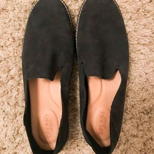 Sperry Seaport Levy Loafer Black